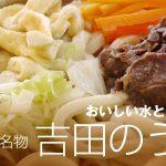 吉田のうどん(山梨)はまずい?特徴は?カップ麺が通販で販売?【ケンミンショー】